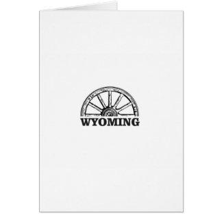 wyoming wheel card