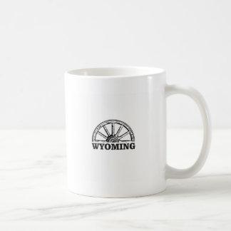 wyoming wheel coffee mug