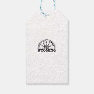 wyoming wheel gift tags