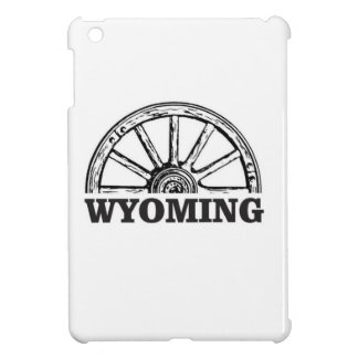 wyoming wheel iPad mini cover