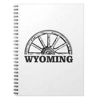 wyoming wheel notebooks
