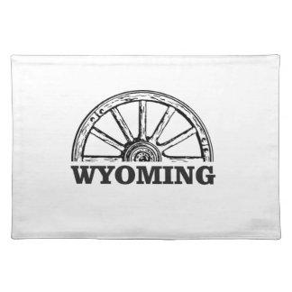 wyoming wheel placemat