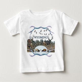 WYOMING wildlife Baby T-Shirt