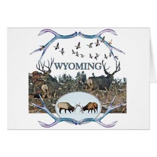 WYOMING wildlife Card