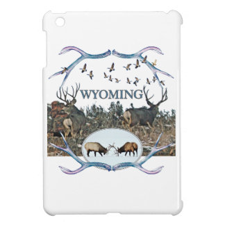 WYOMING wildlife iPad Mini Covers