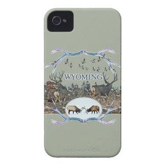 WYOMING wildlife iPhone 4 Case