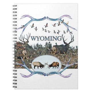 WYOMING wildlife Notebook