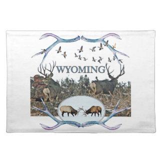 WYOMING wildlife Placemat