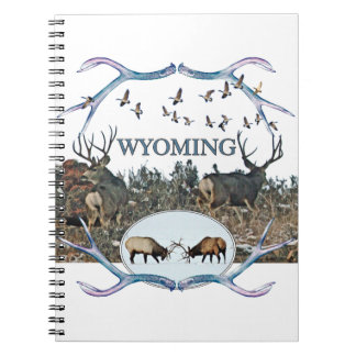 WYOMING wildlife Spiral Note Books