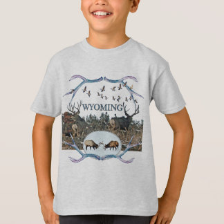 WYOMING wildlife T-Shirt