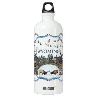 WYOMING wildlife Water Bottle