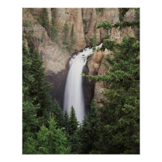 Wyoming, Yellowstone National Park, Tower Falls Poster