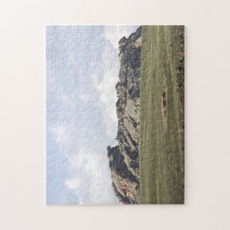 Wyoming's Turtle Rock Jigsaw Puzzle