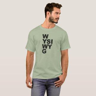 WYSIWYG tee shirt
