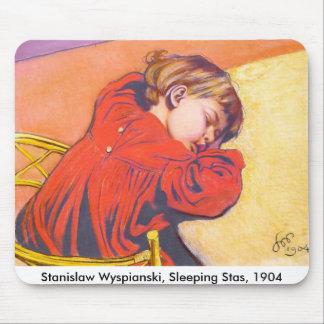 Wyspianski Sleeping Stas 1904 Mousepads