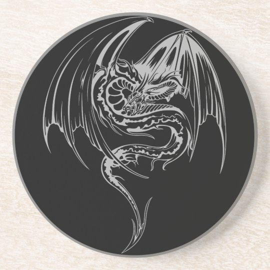 Wyvern Dragon Are Fantasy Mythical Creatures Coaster