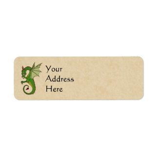 Wyvern Return Address Label