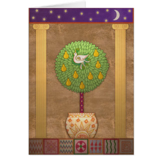 X009 Partridge in a Pear Tree Card