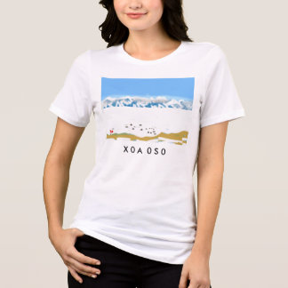 X0A 0S0 arctic circle digital drawing tee