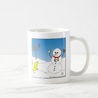 x12 snowman baseball cartoon coffee mug