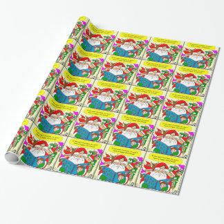 x41 wheres waldo cartoon wrapping paper