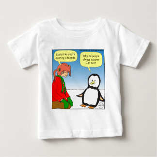 x68 penguin TUX cartoon Baby T-Shirt