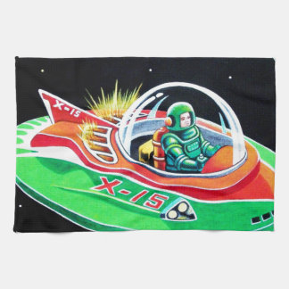 X-15 FLYING SAUCER TOWEL
