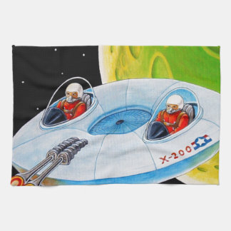 X-200 FLYING SAUCER TOWEL