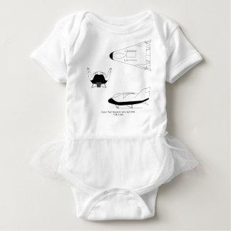 X-38_3-View_line_art_EG-0097-01 Baby Bodysuit