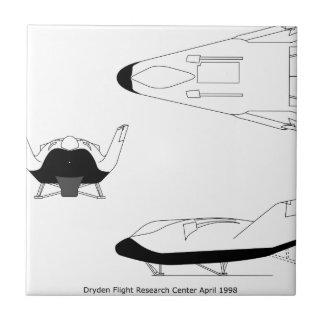 X-38_3-View_line_art_EG-0097-01 Tile
