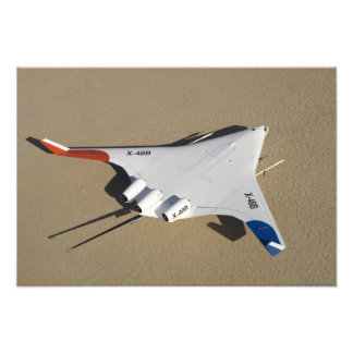 X-48B Blended Wing Body unmanned aerial vehicle 2 Photo Art