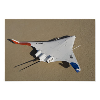 X-48B Blended Wing Body unmanned aerial vehicle 2 Poster