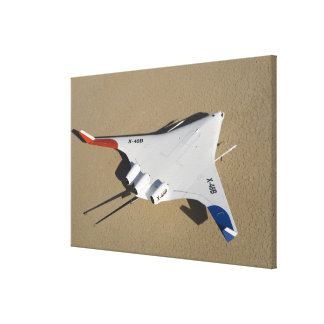 X-48B Blended Wing Body unmanned aerial vehicle 2 Stretched Canvas Print