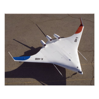 X-48B Blended Wing Body unmanned aerial vehicle 4 Photo Art
