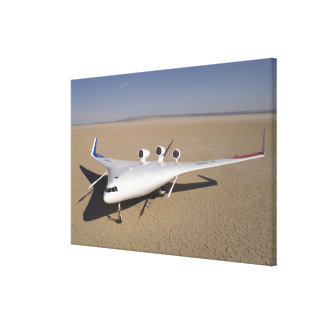 X-48B Blended Wing Body unmanned aerial vehicle 4 Stretched Canvas Prints