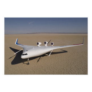 X-48B Blended Wing Body unmanned aerial vehicle Print