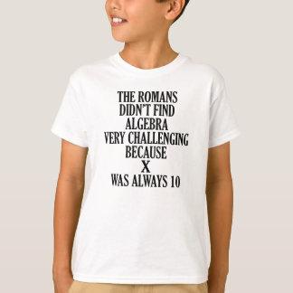 X  ALWAYS 10 FUNNY MATH JOKE T-Shirt