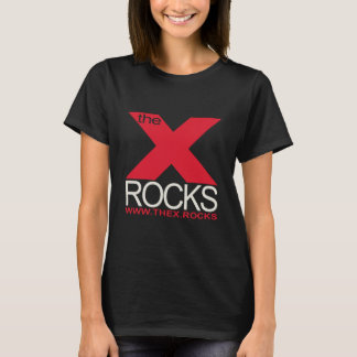 X Basic Ladies Black T-Shirt