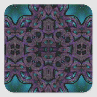 x blue and purple quilt pattern.png square sticker