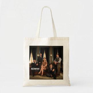 X Company Cast Photo Budget Tote Bag
