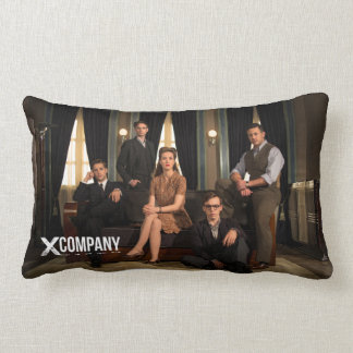 X Company Cast Photo Lumbar Pillow