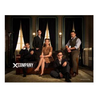 X Company Cast Photo Postcard
