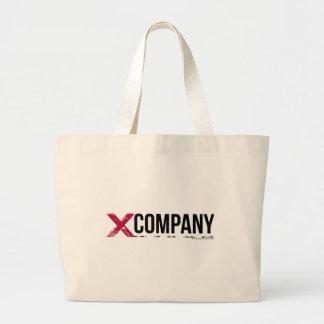 X Company Logo Large Tote Bag