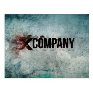 X Company Map Postcard