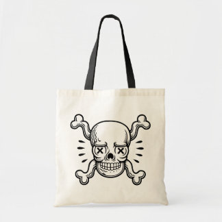 X-Eyed Pirate Tote Bag