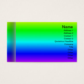 X Flames Grid Business Card