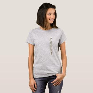 X Generation T-shirt
