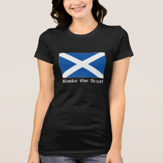 X Marks the Scot - Black T-Shirt