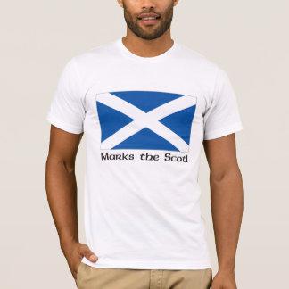 X Marks the Scot - White T-Shirt
