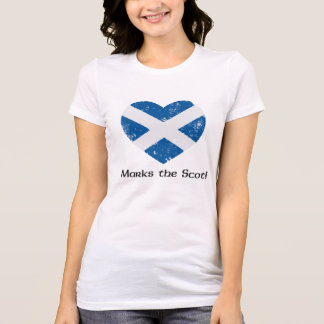 X Marks the Scot - White T-Shirt
